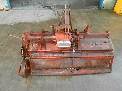 Howard 6' Rotavator, Cultivator For Tractor. With Full PTO. Strong Rotavator