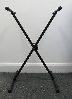 2x Stagg Keyboard Stand Adjustable X Style - WAR S22