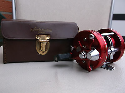 ABU AMBASSADEUR 5000 Multirolle Angelrolle Fishing Reel Mullinello Angeln Sweden