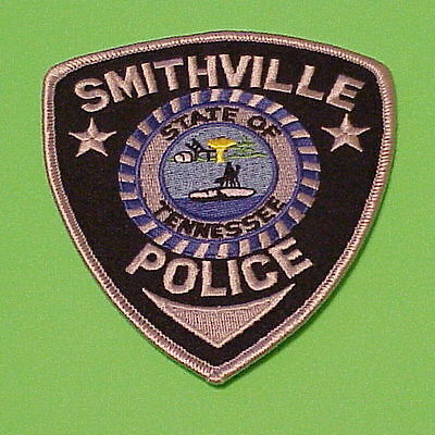 Smithville  Tennessee  Tn  Police Patch   Free Shipping!!!