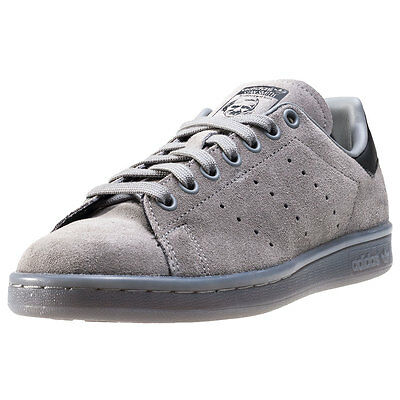 adidas Stan Smith Womens Trainers Grey New Shoes