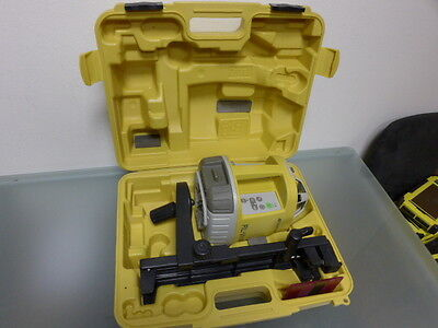 TOPCON RL-VH4DR rotary laser level with wall mount and target