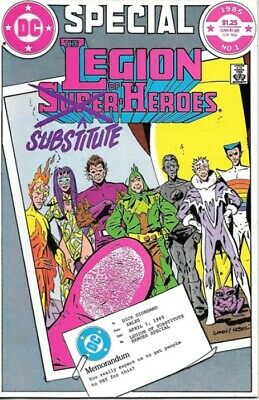 Legion of Substitute-Heroes Comic Book Special #1, DC Comics 1985 NEAR MINT NEW
