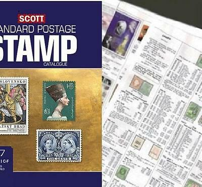 China ALL 2017 Scott Catalogue Pages 291-472