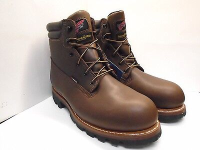 """G2801 New Men's Red Wing 1203 6"""" Lace up WP Insulated EH Brown 10D"""