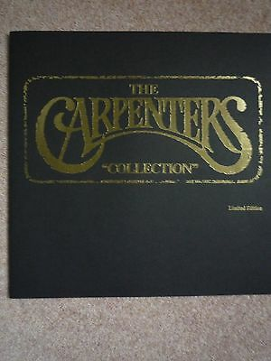 The Carpenters Collection LP Boxed Set - Information Booklet Only - No LP's