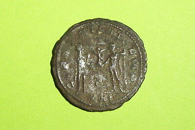 Authentic Ancient ROMAN COIN of PROBUS 276 AD victory globe Jupiter old antique