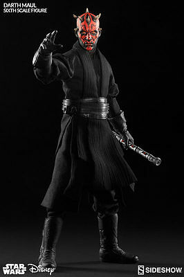"""Star Wars Darth Maul 1/6 12"""" Sixth Scale action Figure By Sideshow Collectibles"""