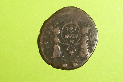 RARE Ancient ROMAN COIN angels MAGNENTIUS 350 AD-353 AD victories shield old g