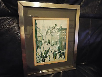 Framed And Mounted Lowri Print  - Metal Frame