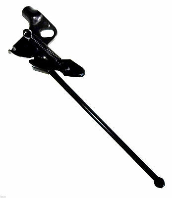 Bicycle Bike Alloy Side Kick Stand Black Spring Loaded Bike Cycle Stand