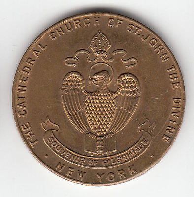 Usa New York Cathedral Token C1939    336D           By Coinmountain