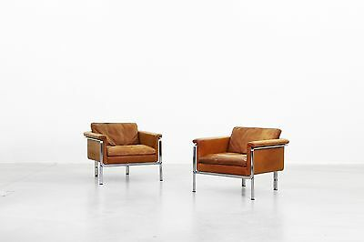 Pair of Lounge Chairs by Horst Brüning for Kill International