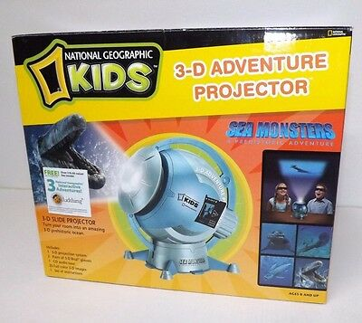 National Geographic 3-D Adventure Projector