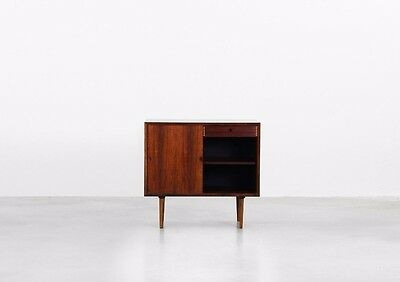 Danish Mid Century Modern Commode Chest of Drawers by Poul Cadovius