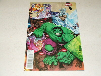 Original Sin 2 ARTHUR ADAMS INTERLOCKING BATTLE VARIANT (Marvel Comics) Jul 2014