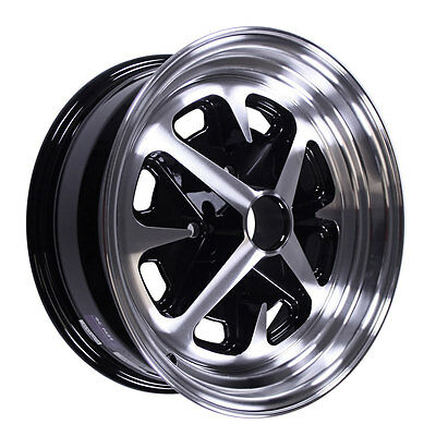 Legendary Wheel Co. LW40-50644A Mustang Magnum 400 15x6 65-73