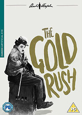 The Gold Rush Charlie Chaplin Dvd Brand New Region 2