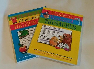 Children's Illustrated Thesaurus and Children's Illustrated Dictionary