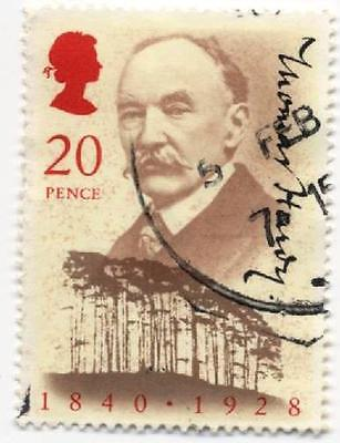 GB Stamps SG1506  150th Anniversary of Thomas Hardy (author) Used