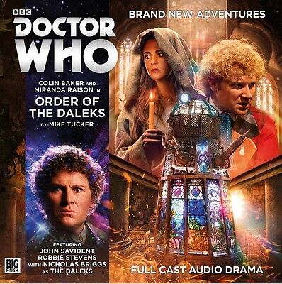 Doctor Who 218 Order Of The Daleks. Big Finish CD New