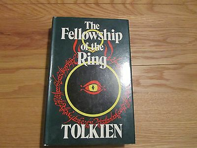 The Fellowship of the Ring by JRR Tolkien 10th impr hb 1978