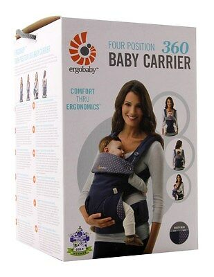 Ergobaby Four Position 360 Baby Carrier Dusty Blue