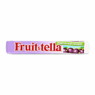 Fruit-Tella Blackcurrant 41g pack Fruitella - Various Quantity Long Use by Date