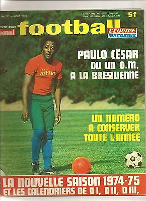 Football Magazine N°177 Guide Complet D1 D2 D3 1974/ 1975+Calendrier+ Pologne