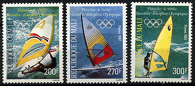 Mali 1982 SG#947-9 Wind-Surfing, Olympic Games MNH Set #D39674