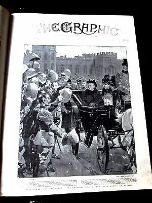 The Graphic. 1900.boer War. China. Boxer Rebellion. Like Illustrated London News