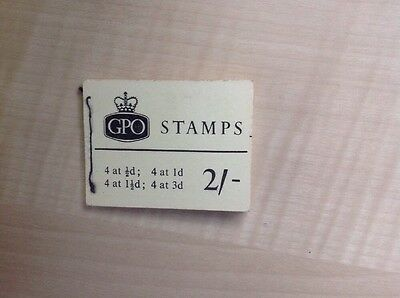 Great Britain Stamp Booklet 2/- February 1964 SG N15
