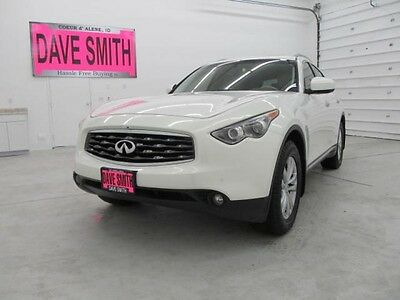 2009 Infiniti FX Base Sport Utility 4-Door 09 Infiniti FX35 AWD Auto Sunroof Heated Seats Navigation Capable Bluetooth