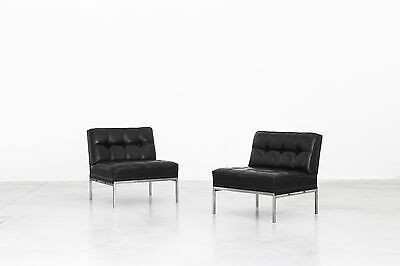 Mid Century Design Pair of Lounge Chairs by Johannes Spalt for Wittmann