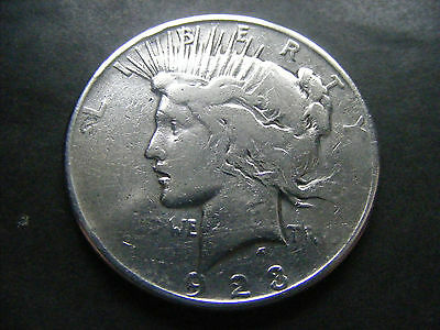 US UNITED STATES of AMERICA 1923 SILVER DOLLAR COIN