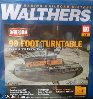 Walthers HO #933-3171 (90 Foot Turntable) Best Price Buy it Now