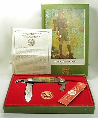 Official Boy Scouts of America Norman Rockwell Camillus LE Commemorative Knife