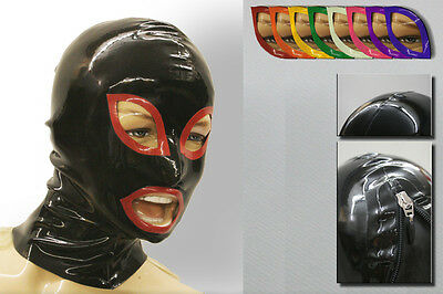 "Latexmaske ""StripeCol"" Latex Maske Mask Rubber -NEU-"