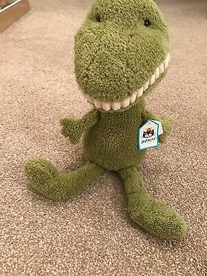 Toothy T Rex Cuddly Toy - by JellyCat