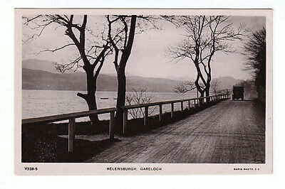 Road To Helensburgh Gareloch Aug 1907 Real Photograph Clegg Cedar House Hindley