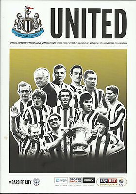 Newcastle United v. Cardiff City - 5/11/16 - mint condition