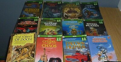 Fighting Fantasy Role Playing Paperback Book Bundle 13 Titles In Collection Wow!