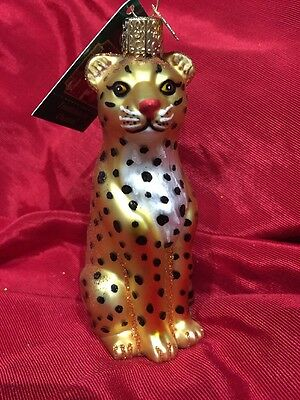 Leopard (12148) Old World Christmas Ornament