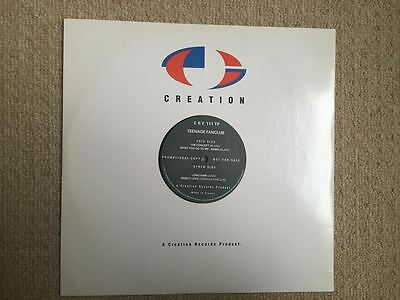 """Rare 1991 Promotional 12"""" TEENAGE FANCLUB  The Concept b/w What You Do To Me + 2"""