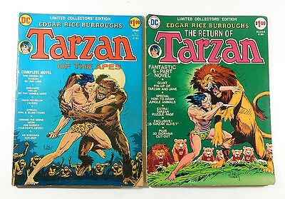 Tarzan Treasury Edition #C-22 C-29 ^ DC Comics ^ Return of and of the Apes