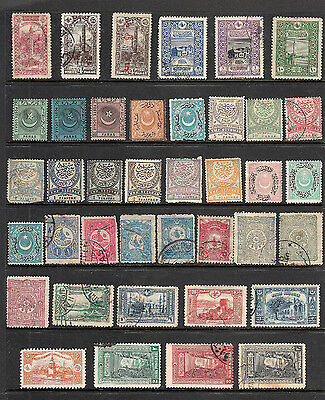Older Collection Of Stamps From Turkey