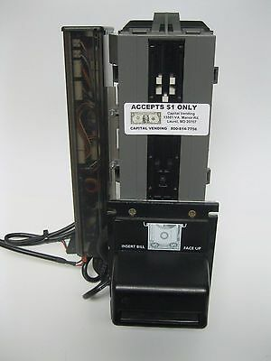 Coinco BA30B Validator - 120v Soda pop vending machines takes $1 only
