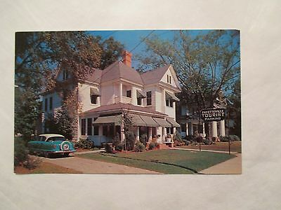 Fayetteville Tourist home North Carolina NC Postcard