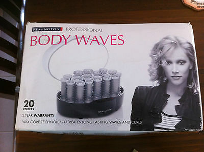 Remington Body Waves Hair Curlers/Heated Rollers, New Never Used.