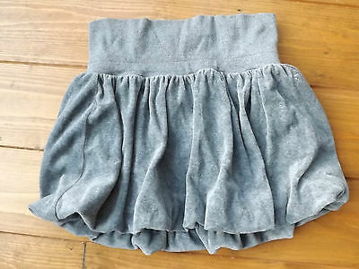 GAP grey velour velvet tulip puff ball skirt in age 10-11 years. MINT